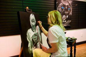 angela painting